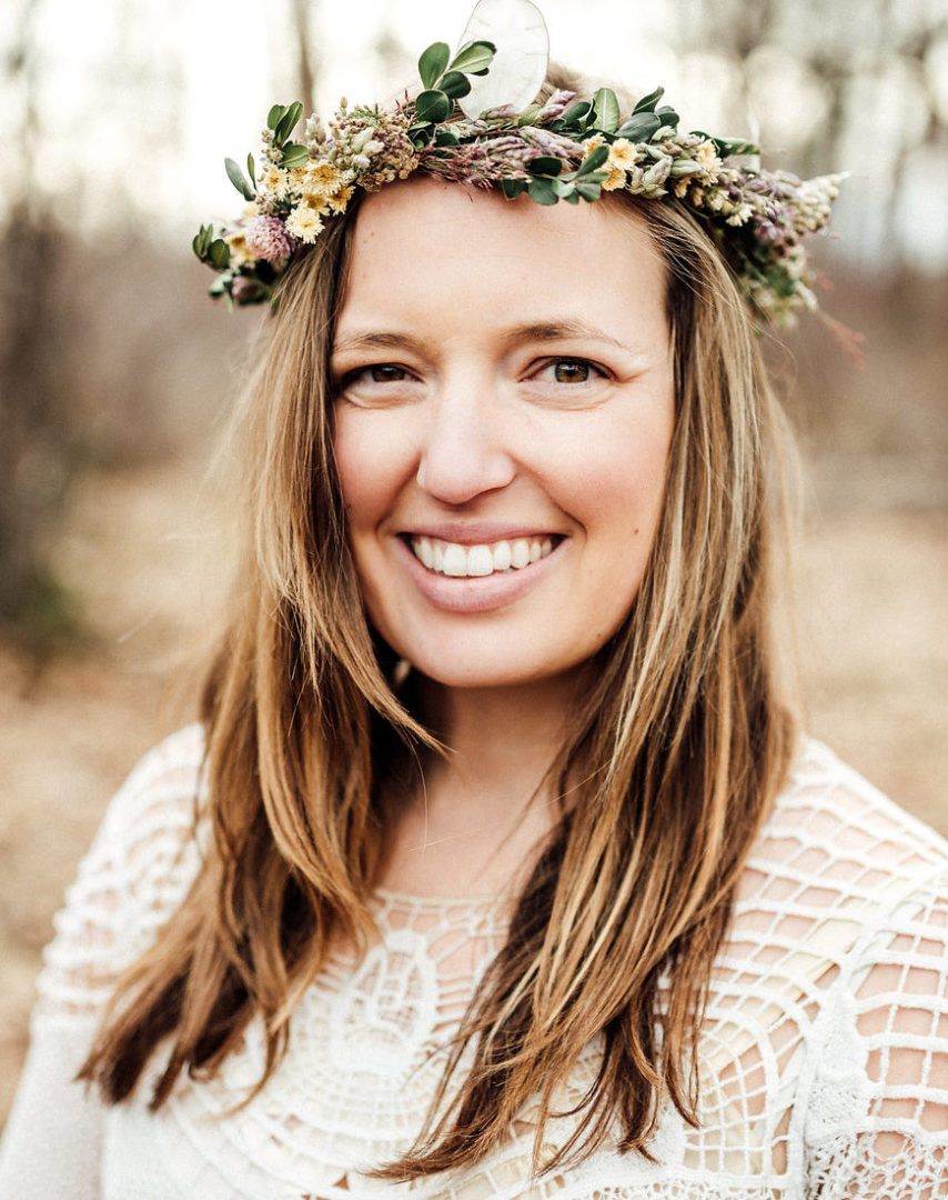 Melissa Lafontaine, owner of Earth Within Flowers