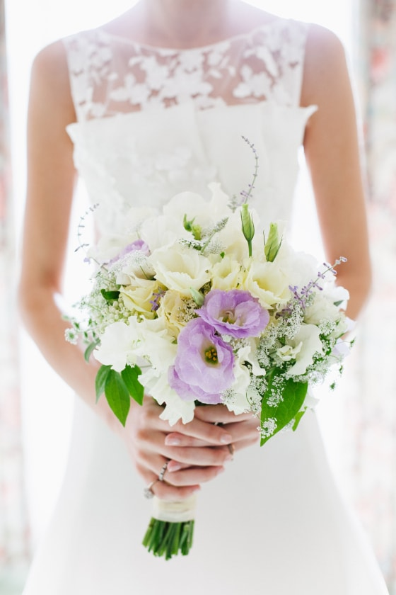 Lavender bouquet, Missoula Wedding Flowers