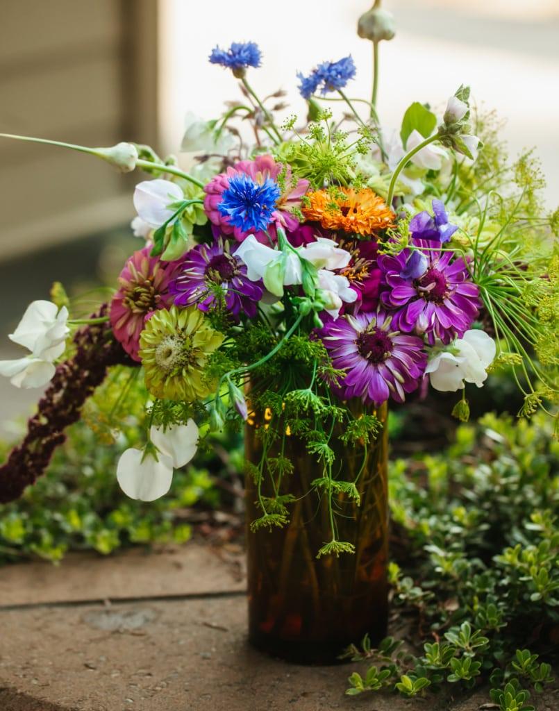 medium flower arrangement and vase for delivery in Missoula, Montana