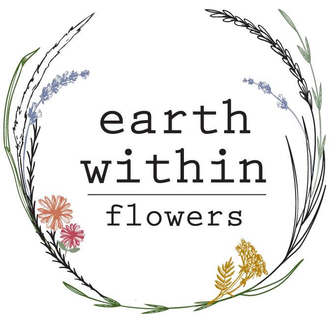 Earth Within Flowers Logo