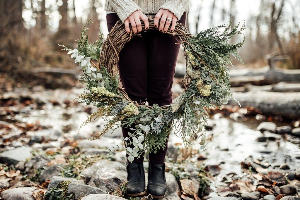 Winter Wreath in Missoula, MT