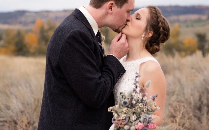 Dried Floral Wedding Flowers in Montana