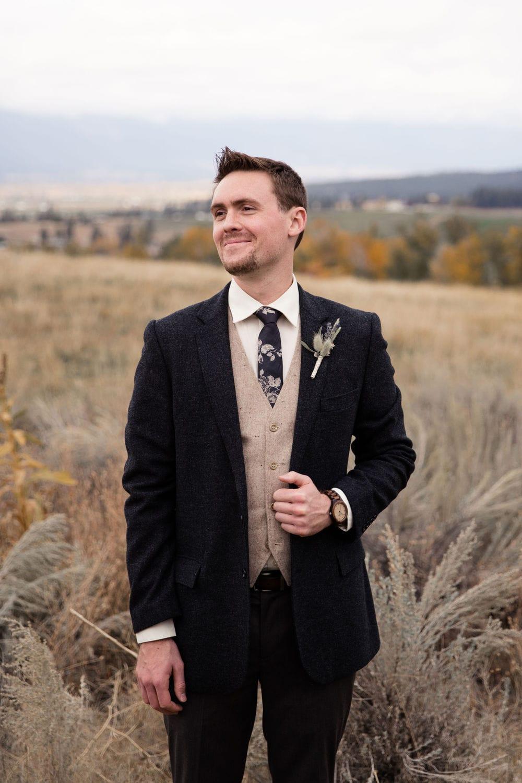 Groom boutonniere in Missoula, Montana Missoula Florist