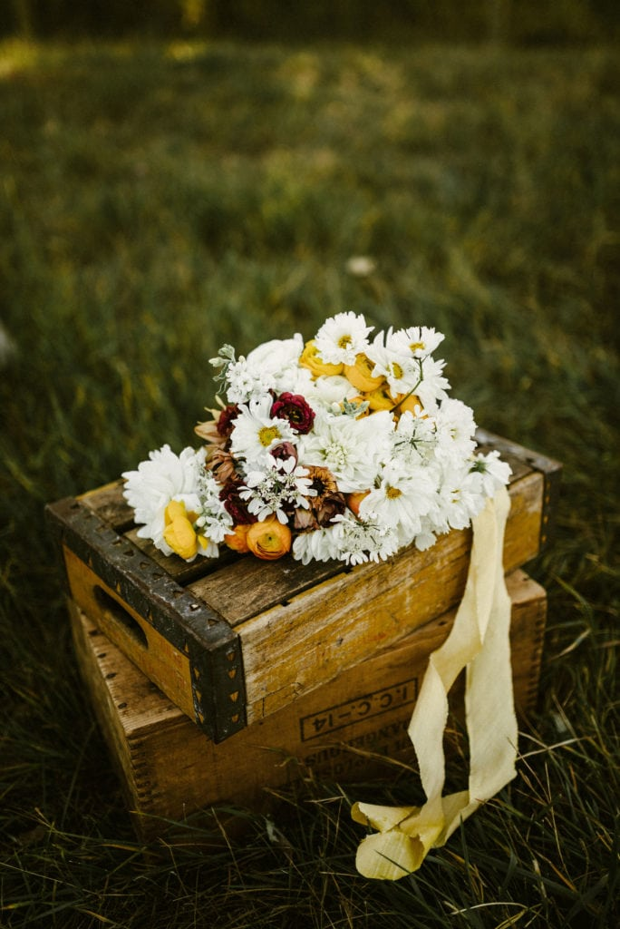 Montana Wedding Flowers Rocky Mountain Bride Shoot