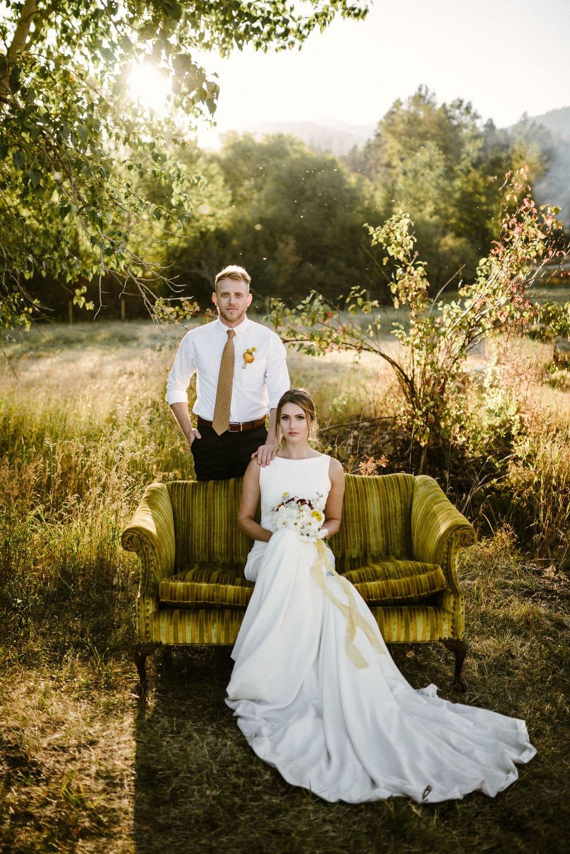 Montana Wedding Flowers Rocky Mountain Bride Shoot