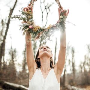 Spring DIY Wreath Missoula Montana