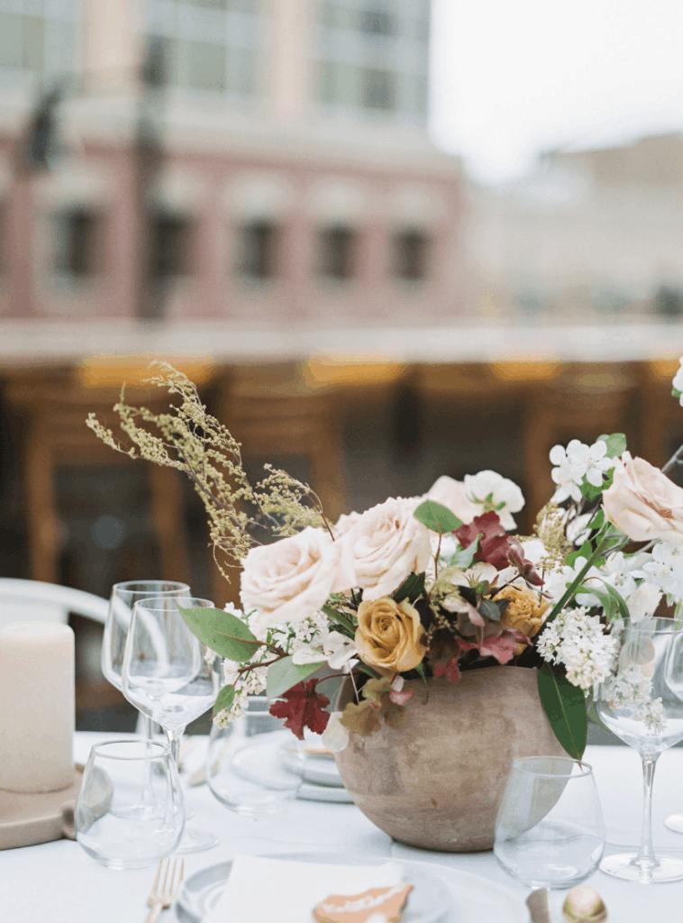 Merc Rooftop Floral Centerpiece Missoula