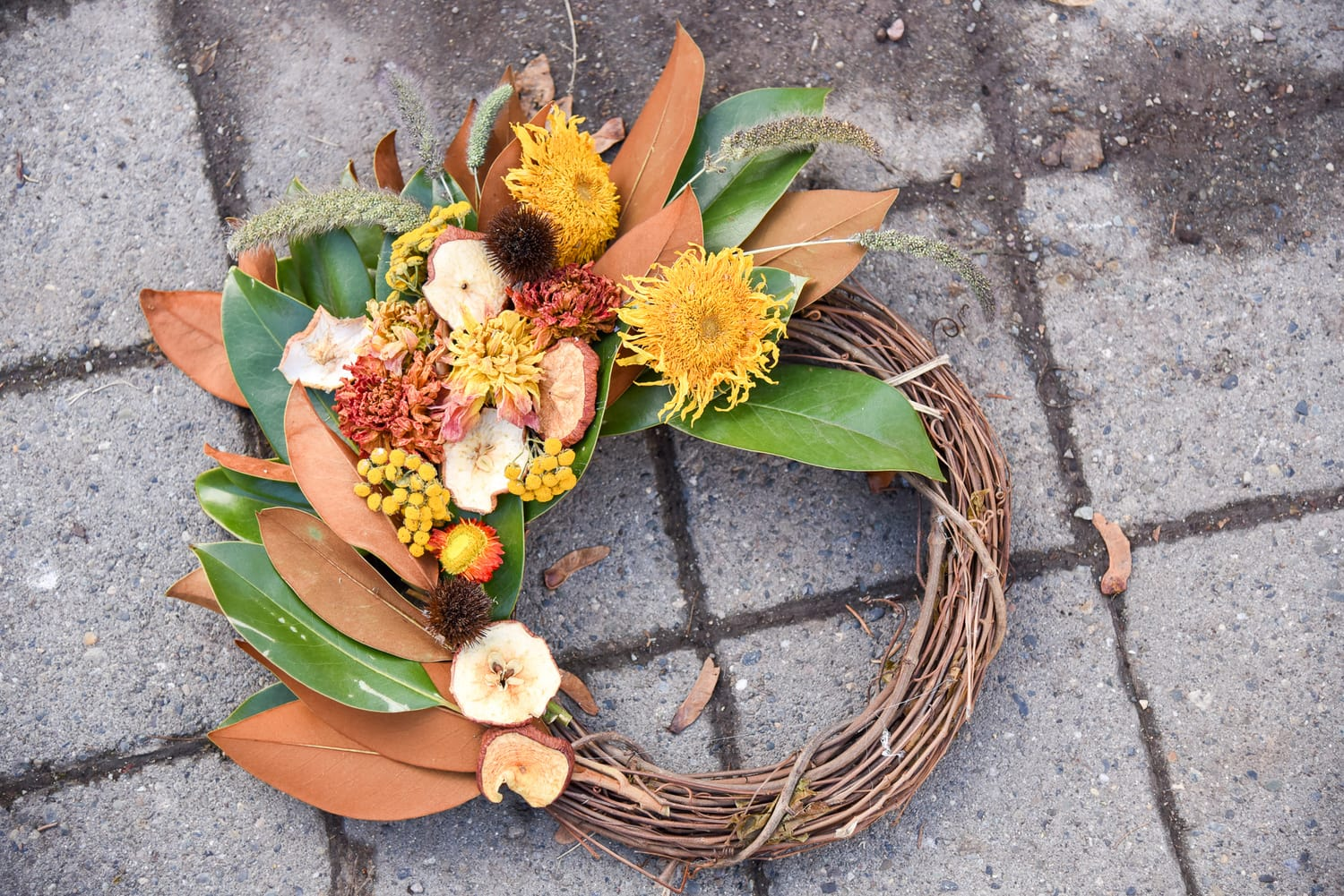 DIY Harvest Wreath