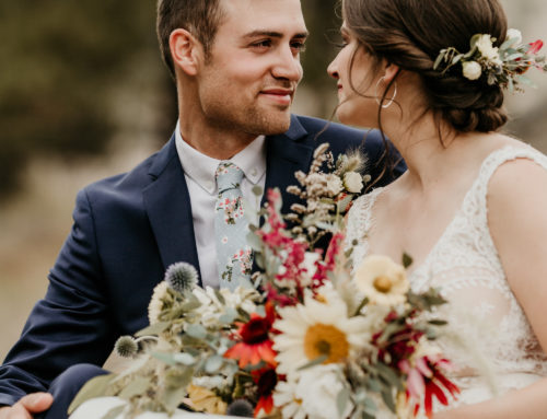 Jewel-Toned Autumn Wedding