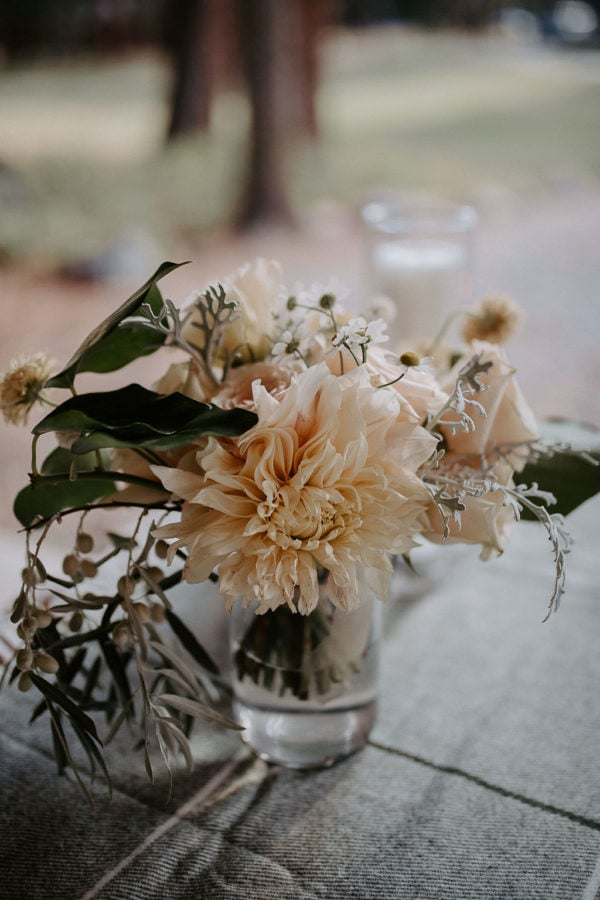 Montana floral table setting