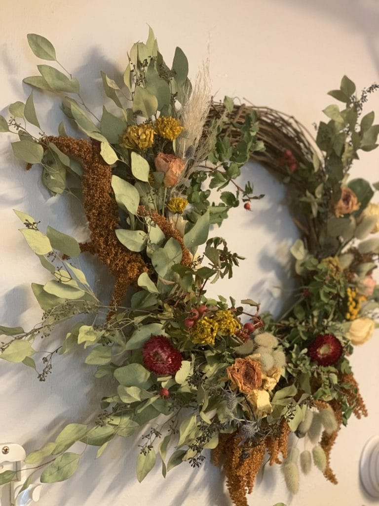 montana florist harvest wreath