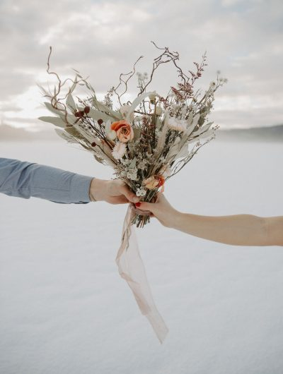 Dried Wedding Flowers
