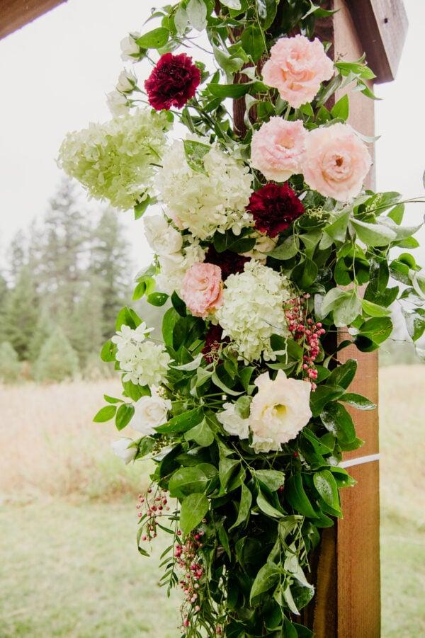 florist for weddings in Hamilton MT